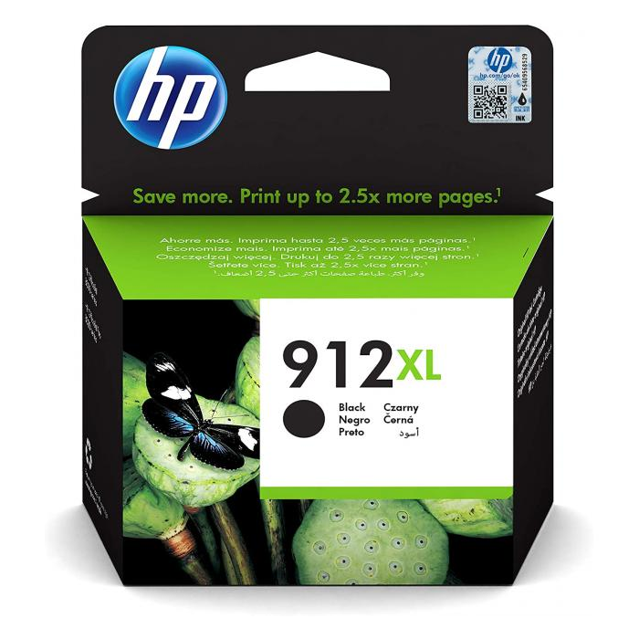 Atrament HP 3YL84AE, HP 912XL, black