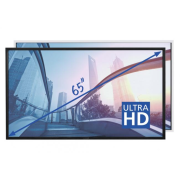 e-Screen PTX-6500UHD čierny, Ultra HD